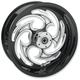 Black 18 x 3.25 Savage Eclipse One-Piece Wheel - 18350-9974-85E