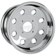 Polished 14 in. x 7 in. T-9 Pro Mod Wheel - 1428499403