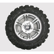 Rear Left Bajacross SS212 Platinum Alloy Tire/Wheel Kit - 46554L