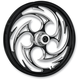 Front Black 18 x 3.5 Savage Eclipse Forged Wheel - HO1835001-85E