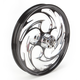 Front Black 21 x 2.15 Savage Eclipse Forged Wheel - 21215-9008-85E