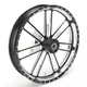 21 in. x 3.5 in. Slam One-Piece Contrast-Cut Aluminum Wheel - 12047106RSLMBM