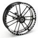 18 in. x 5.5 in. Slam One-Piece Contrast-Cut Aluminum Wheel - 12697814RSLMBM