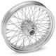 Chrome 19 x 2.15 60-Spoke Laced Wheel Assembly - 0203-0398