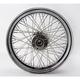 Chrome Rear 16 x 3.5 60-Spoke Laced Wheel Assembly - 0204-0359