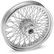 Chrome Rear 16 x 3.5 80-Spoke Laced Wheel Assembly - 0204-0363