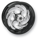Rear Black 18 x 5.5 Savage Eclipse Forged Wheel - 18550-9060-85E