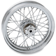 Chrome Rear 16 x 3 40-Spoke Laced Wheel Assembly - 0204-0374