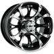 12 in. Machined Nitro Wheel - 989-25