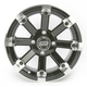Black 393X Cast Aluminum ATV/UTV Wheel - 0230-0527