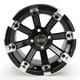 Black 393X Cast Aluminum ATV/UTV Wheel - 0230-0532