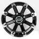 Black 393X Cast Aluminum ATV/UTV Wheel - 0230-0534
