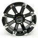 Black 393X Cast Aluminum ATV/UTV Wheel - 0230-0536