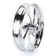 Front 21 in. x 3.5 in. Drifter One-Piece Forged Aluminum Chrome Wheel - 21350-9031-101C