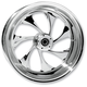 Rear 17 in. x 6.25 in. Drifter One-Piece Forged Aluminum Chrome Wheel - 17625-9209-101C