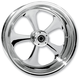 Rear 17 in. x 6.25 in. Nitro One-Piece Forged Aluminum Chrome Wheel - 17625-9210A-92C