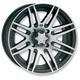 Front Black SS316 Alloy 12x7 Wheel - 1228515536B