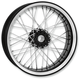 23 in. x 3.5 in. Front Platinum Cut Merc Wire Custom Wheel - 12286306RMRCBMP