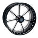 23 in. x 3.5 in. Diesel One-Piece Contrast Cut Aluminum Wheel for Models w/ ABS - 12047306RDIEBM