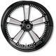 23 in. x 3.5 in. Judge One-Piece Contrast Cut Aluminum Wheel - 12017306RJUDBM