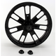 23 in. x 3.5 in. Slam One-Piece Black Ops Aluminum Wheel for Models w/o ABS - 12027306RSLMSMB