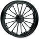 23 in. x 3.5 in. Domino One-Piece Contrast Cut Aluminum Wheel - 12017306RDOMBM