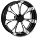Front Platinum Cut 23 x 3.5 Paramount One-Piece Wheel w/o ABS - 12227306RPARBMP