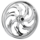 Front Chrome 17 x 3.5 Assault Eclipse One-Piece Forged Wheel - 17350-9346-95E