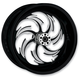 Rear Chrome 17 x 6.25 Assault Eclipse One-Piece Forged Wheel - 181050-9353-95E