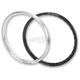 Silver Rear LT-X DirtStar Rim - 19X215LTS01Y