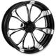 Front Platinum Cut 23 x 3.5 Paramount One-Piece Wheel - 12047306RPARBMP