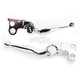 Chrome Journey Brake/Clutch Lever Set - 12-00600-20