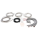 Stainless Steel Braided Complete Handlebar Cable and Brake Line Kit for use w/Mini Ape Hangers (W/ABS) - LA-8053KT2-08