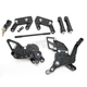 D-Axis Rearset - DRP-518-BK