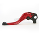 Shorty Length Red RC2 Brake Lever - 2AB-511B-H-R