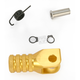 Gold +0mm Knurled Shift Tip - 01-0000-02-50