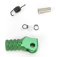 Green +5mm Knurled Shift Tip - 01-0000-04-30