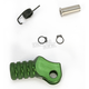 Green +10mm Knurled Shift Tip - 01-0000-06-30