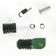 Green +0mm Rubber Shift Tip - 01-0000-03-30