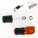 Orange +0mm Rubber Shift Tip - 01-0000-03-40
