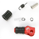 Red +5mm Rubber Shift Tip - 01-0000-05-10
