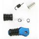 Blue +5mm Rubber Shift Tip - 01-0000-05-20