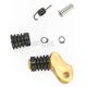 Gold +20mm Rubber Shift Tip - 01-0000-11-50