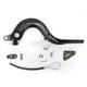 Rear Brake Pedal Lever Kit with Green Standard Aluminum Brake Tip - KXFRBPBSGN