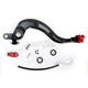 Rear Brake Pedal Lever Kit with Red Rotating Brake Tip - 02-0452-23-11