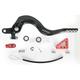 Rear Brake Pedal Lever Kit with Red Large Aluminum Brake Tip - 02-0453-20-11