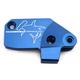 Blue Clutch Master Cylinder Cover - 35-0563-00-20