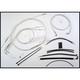 Custom Sterling Chromite II Designer Series Handlebar Installation Kit for Use w/12 in. - 14 in. Ape Hangers (Non-ABS) - 387171