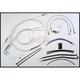 Custom Sterling Chromite II Designer Series Handlebar Installation Kit for Use w/15 in. - 17 in. Ape Hangers (w/ABS) - 387182