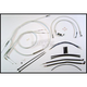 Custom Sterling Chromite II Designer Series Handlebar Installation Kit for Use w/15 in. - 17 in. Ape Hangers (w/ABS) - 387232